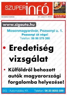 Szuperinfó Mosonmagyaróvár 29/02