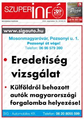 Szuperinfó Mosonmagyaróvár 28/38