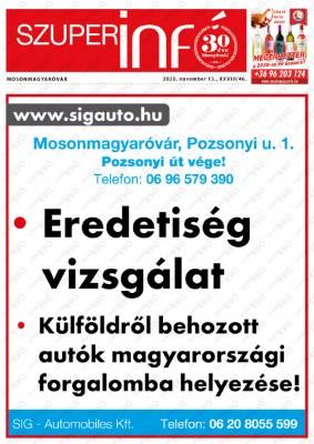 Szuperinfó Mosonmagyaróvár 28/46