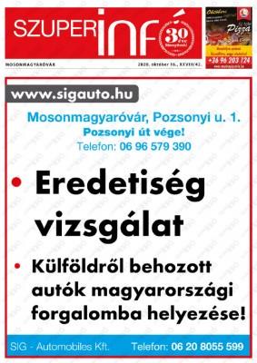 Szuperinfó Mosonmagyaróvár 28/42