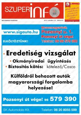 Szuperinfó Mosonmagyaróvár 27/43